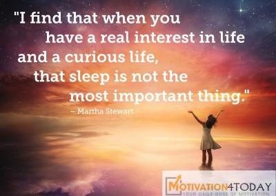 Day 65 quote by Martha Stewart